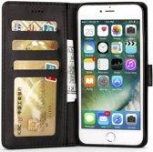 Apple iPhone 6(S) Portemonnee Hoesje Splitleer Zwart