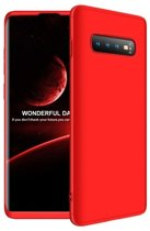 Teleplus Samsung Galaxy S10 360 Full Protection Hard Cover Case Red
