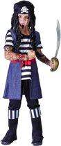 Getatoeëerde piraten kostuum - Verkleedkleding