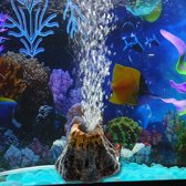 ProAqua - Aquarium Decoratie - Vulkaan ornament - Zuurstof / Bubbels effect | Geeft extra sfeer aan uw aquarium - Het tropische aquarium - Decoratie aquarium - Aquarium decoratie ornamenten - Superfish alternatief
