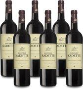 Kanonkop Kadette - 6 x 75 cl - Doos