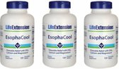Esophacool™, 120 Chewable Tablets, 3-pack