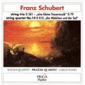 Schubert: Death, the teenager and the maiden... / Kocian Quartet et al