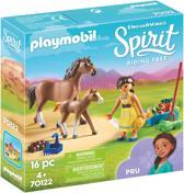 Afbeelding van PLAYMOBIL Pru met paard en veulen - 70122 speelgoed