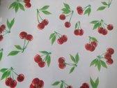 Atelier Du Baj Cherry White Mexicaans Tafelzeil - 250 x 120 cm