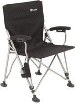 Outwell Campo Campingstoel - Black/silver