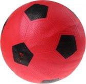 Toyrific Bal Voetbalprint 21 Cm Rood