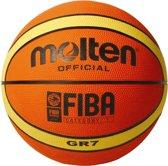 Molten Basketbal Gr Oranje Maat 7
