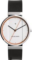 Jacob Jensen 755 horloge heren - zwart - edelstaal