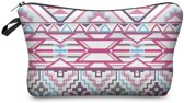 Zumprema Aztec  - Make-up Etui - Pink