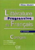 Littérature progressive du français 2e édition - niveau débutant corrigés