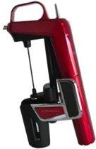 Coravin Model Two Elite - Wijnsysteem - RVS - 6x14x21 cm - Kersenrood