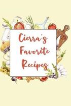 Cierra's Favorite Recipes