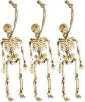 Halloween decoratie hang skeletten - Feestdecoratievoorwerp