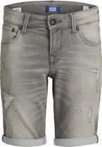 JACK&JONES JUNIOR Jongens Short - Grey Denim - Maat 146