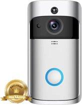 MAXKOOP® 2019 trend HD Video Doorbel, WiFi Smart Wireless Deurbel 720P HD Security Camera Real-Time Video and Two-Way Talk