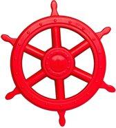 Groot piratenstuur rood