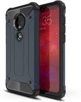 Lunso - Armor Guard hoes - Motorola Moto G7 / G7 Plus - Donkerblauw