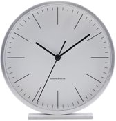 House Doctor Aps - Clock, Hannah, Silver, dia: 15 cm