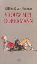 Vrouw met Dobermann