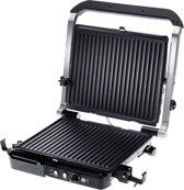 Grundig CG 5040 zwart/RVS - Contactgrill, 2000 Watt