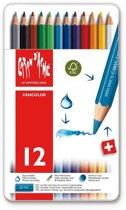 Kleurpotloden Caran d'Ache Fancolor 12 stuks