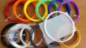 12x10m PLA filament! Incl. 3dpad a 9,95 & cleaning a 2,95! excl. 3dpen