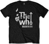 The Who - Maximum R&B heren unisex T-shirt zwart - L