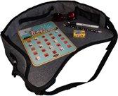 Altabebe - Auto speeltafeltje - Autotafeltje - Speeltafel auto - Schoottafeltje voor kinderen – Speelblad kind- Rond model - Grijs