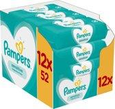 Pampers Sensitive Babydoekjes 12 Verpakkingen = 62