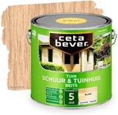Cetabever Schuur & Tuinhuis Beits - Blank - 2,5 liter