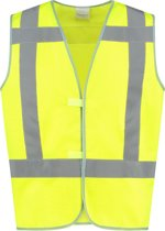 EM Traffic veiligheidsvest High Visibility RWS - Fluor geel - maat 4XL/5XL