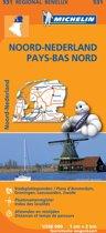 Michelin 531 Noord-Nederland