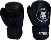 Pitbull Boxing - Bokshandschoenen - Easy Strap- PU Black - OZ 12