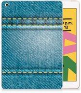 iPad 10.2 (2019) Leuke Siliconen Hoes Jeans
