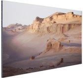 De Kaluts woestijn Aluminium 90x60 cm - Foto print op Aluminium (metaal wanddecoratie)
