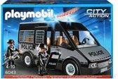 Playmobil Politie ME auto met licht en geluid - 6043