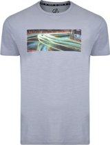 Dare 2b-Converge Tee-Outdoorshirt-Mannen-MAAT XL-Grijs