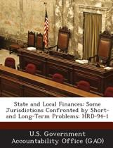 State and Local Finances