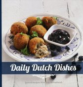 Set puur hout serveerplank 38cm + daily dutch dishes