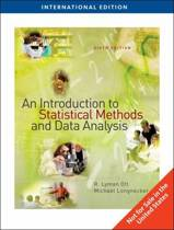 An Introduction to Statistical Methods and Data Analysis, International Edition