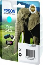 24XL inktcartridge cyaan high capacity 8.7ml 740 pagina's 1-pack blister zonder alarm