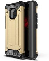 Armor Hybrid Huawei Mate 20 Pro Hoesje - Goud