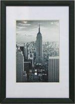 Fotolijst - Henzo - Manhattan - Fotomaat 10x15 - Zwart