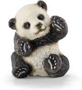 Schleich Panda jong spelend 14734 - Beer Speelfiguur - Wild Life - 3,5 x 4 x 4,5 cm