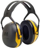 3M Peltor X2 - gehoorbeschermer - SNR 31 dB - zwart met geel