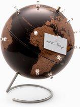 Antieke Globe Magnetische reisplanning Office Memo Desk Tidy