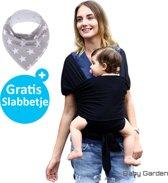 Baby Garden draagdoek zwart | Ergonomisch| Original