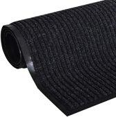 Deurmat PVC 240 x 180 cm (zwart)