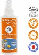 ALPHANOVA SUN BIO SPF 15 Spray 125g